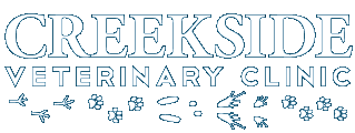 Creekside Veterinary Clinic logo text